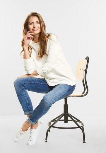 Street One Rippstrick-Streifen Pullover