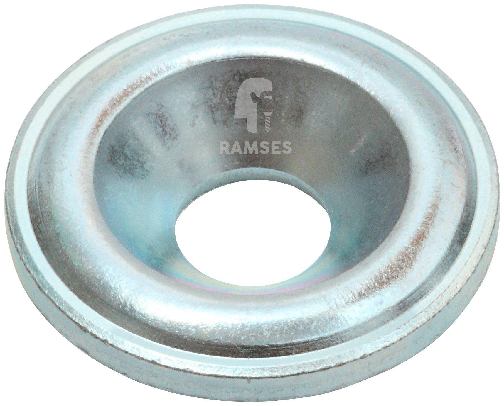 RAMSES Senkscheibe , für Holzbauschrauben 10 mm Stahl blau verzinkt 50 Stück