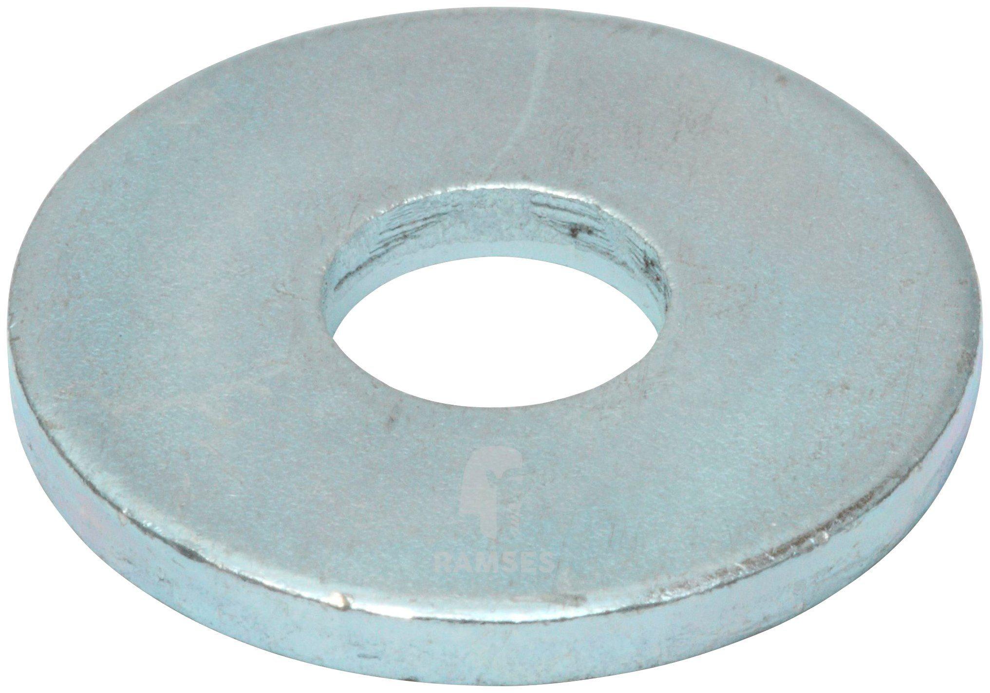 RAMSES Holzbauscheibe , DIN 440 17,5 x 56 x 5 mm Stahl verzinkt 10 Stück