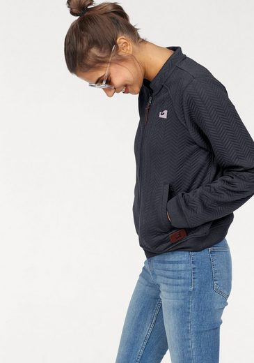 Ocean Sportswear Sweatjacke Strukturierte Optik