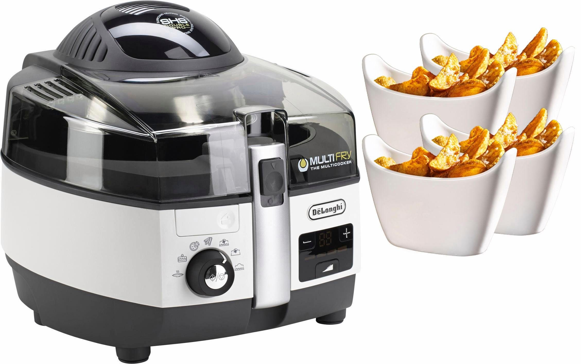 De'Longhi Heissluftfritteuse MultiFry EXTRA CHEF FH1394/1, 2300 W