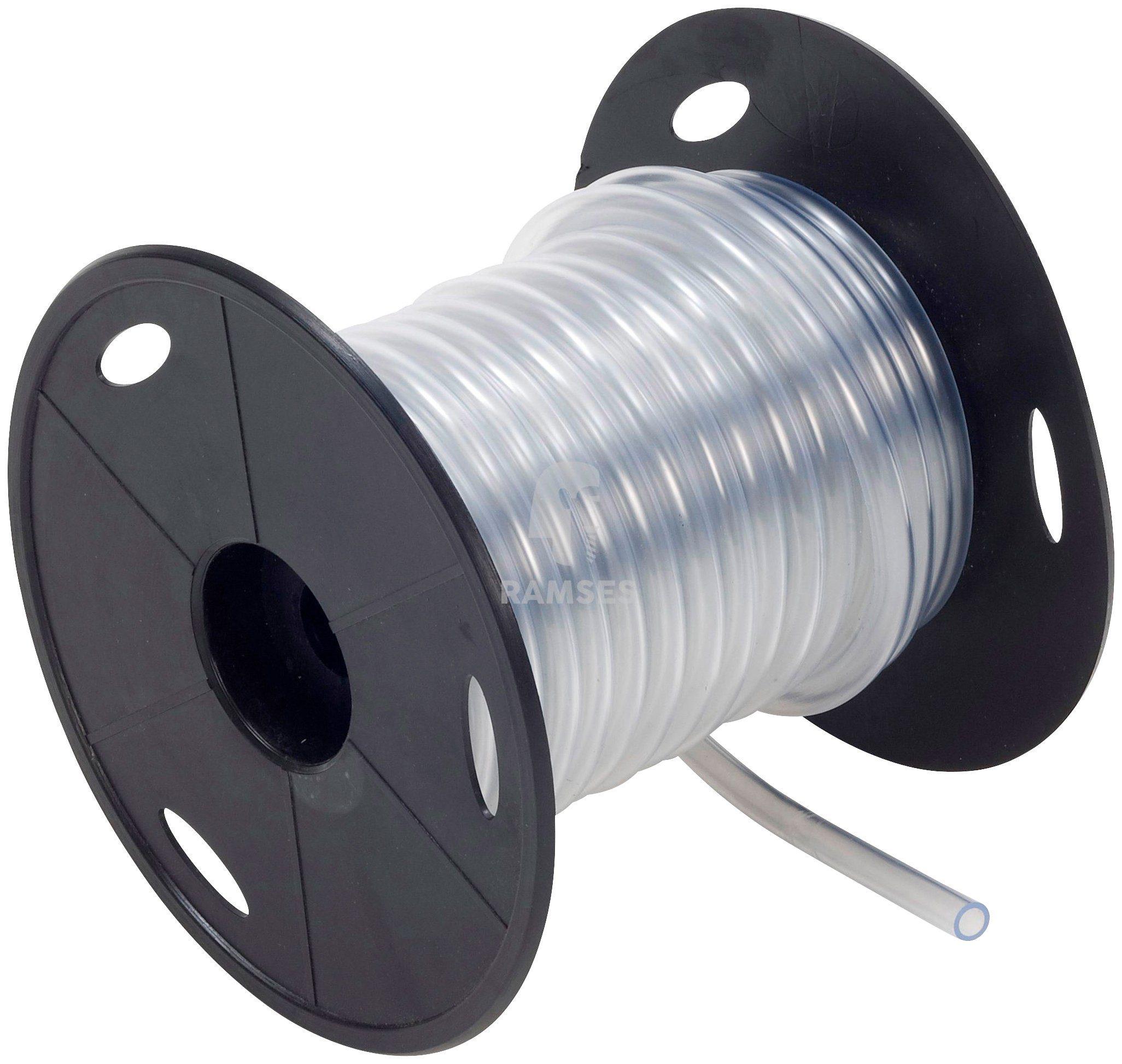 RAMSES Schlauch , PVC-Schlauch Glasklar 8 x 11 mm 15 Meter Spule