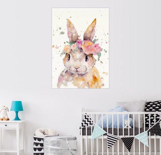 Posterlounge Wandbild - Sillier Than Sally »Kleiner Hase«