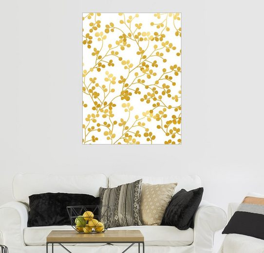 Posterlounge Wandbild - Uma 83 Oranges »Golden Vines«