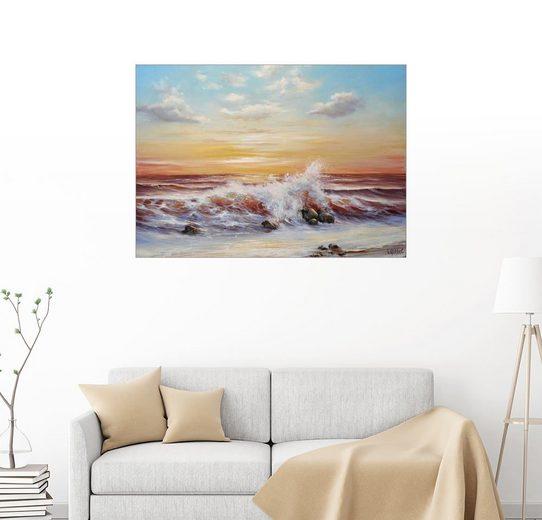 Posterlounge Wandbild - Ludmilla Gittel »Magie von Meer«