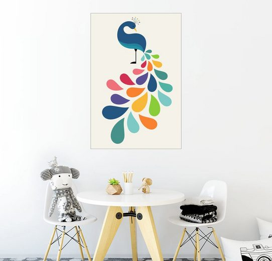 Posterlounge Wandbild - Andy Westface »Verträumtes Blütenblatt«