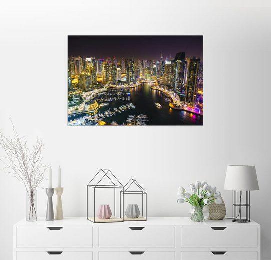 Posterlounge Wandbild - Fraser Hall »Dubaier Hafen«