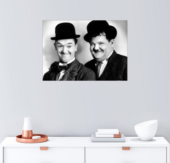Posterlounge Wandbild »Dick & Doof«
