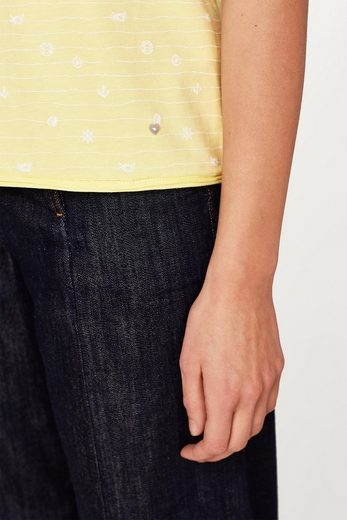 EDC BY ESPRIT Oversized T-Shirt aus Baumwolle