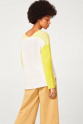 ESPRIT Strick-Pullover mit Kaschmir
