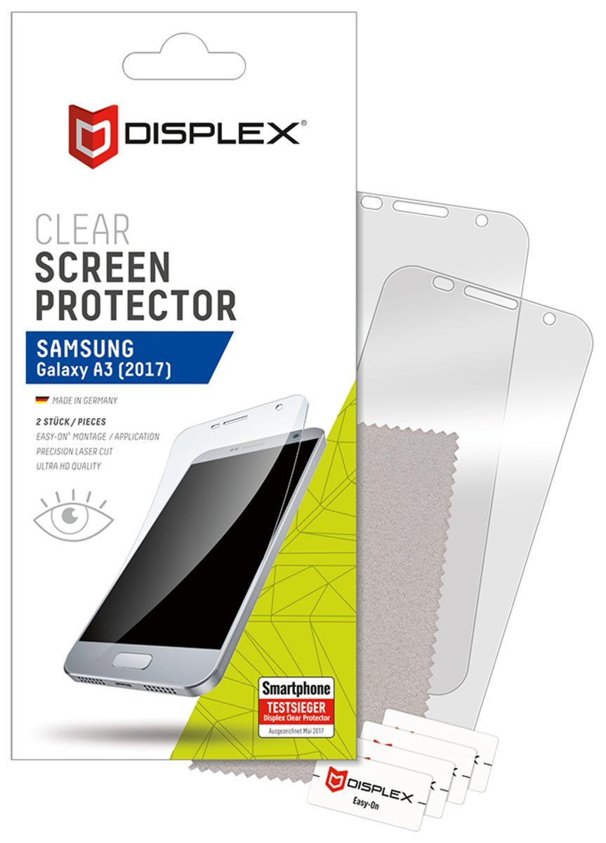 Displex Folie »Displayschutzfolie (2Stk) für Galaxy A3 (2017)«
