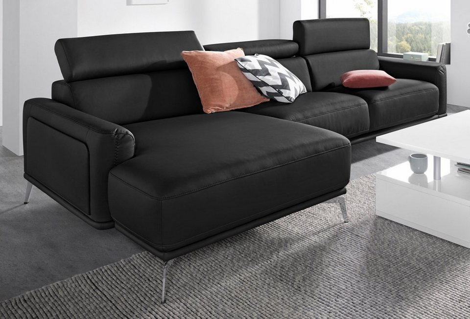 Exxpo sofa fashion polsterecke wahlweise mit for Sofa mit bettfunktion