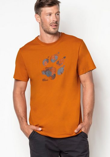 Jack Wolfskin T-Shirt MARBLE PAW T MEN