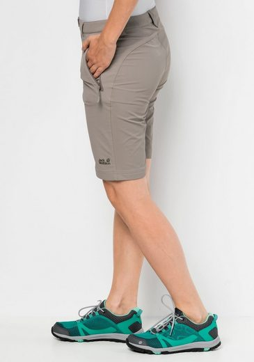 Jack Wolfskin Funktionsshorts ACTIVATE TRACK SHORTS WOMEN