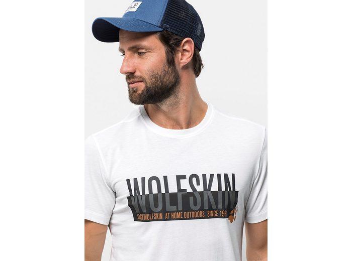 Jack Wolfskin T-Shirt SLOGAN T MEN Freies Verschiffen Echte Freies Verschiffen Niedrig Versandkosten Shop-Angebot Zum Verkauf Freies Verschiffen Authentische zytAhA