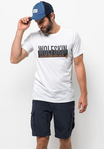 JACK WOLFSKIN Marškinėliai »SLOGAN T MEN«