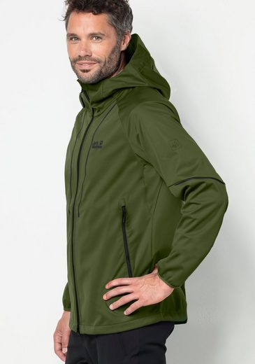 Jack Wolfskin Softshelljacke GREEN VALLEY JACKET MEN