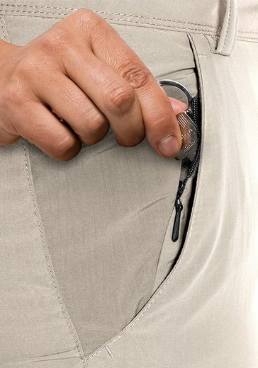 Jack Wolfskin Zip-off-Hose MARRAKECH ZIP OFF PANTS