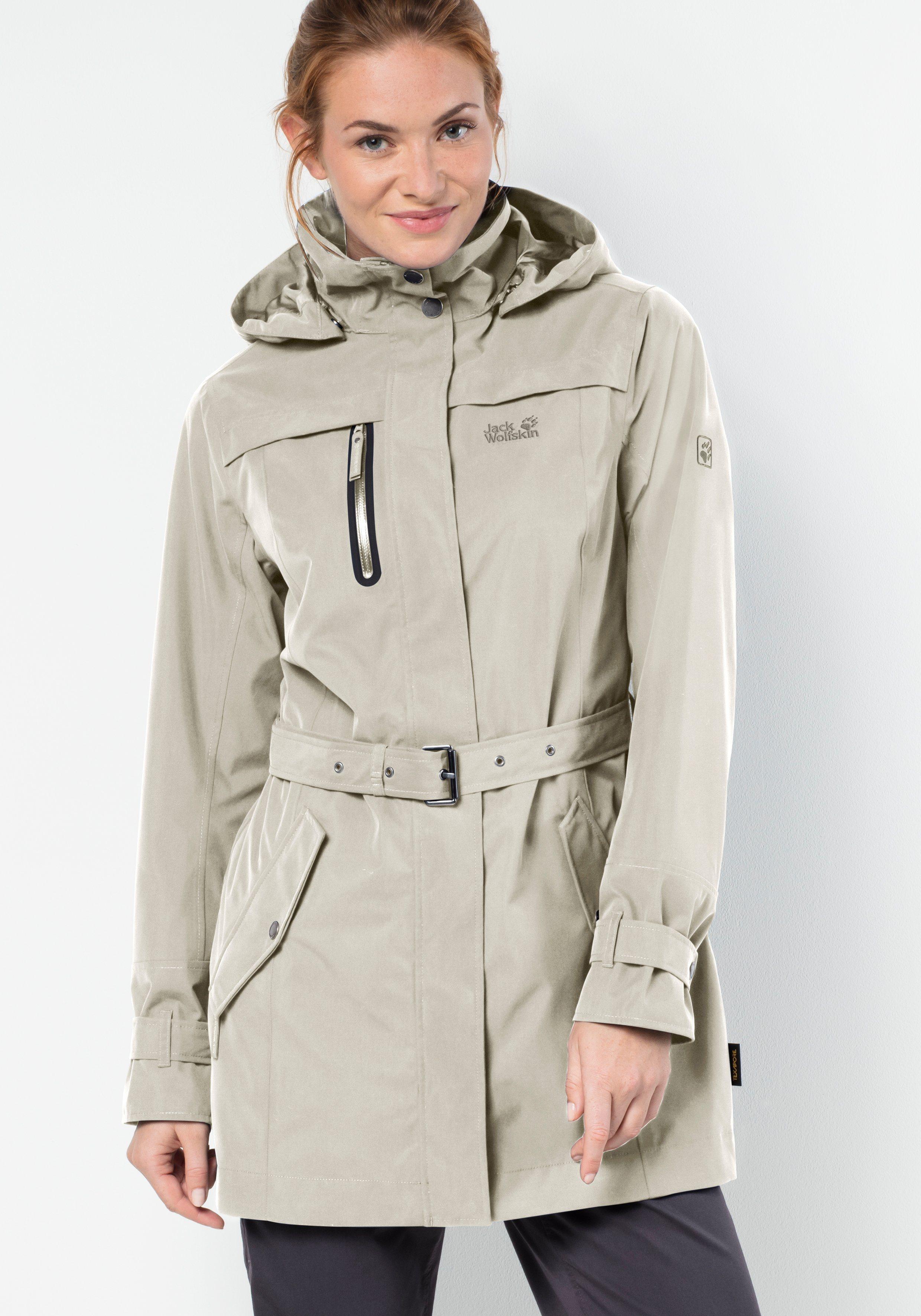 Jack Wolfskin Trenchcoat »KIMBERLEY COAT« | Bekleidung > Mäntel > Trenchcoats | Polyester | Jack Wolfskin