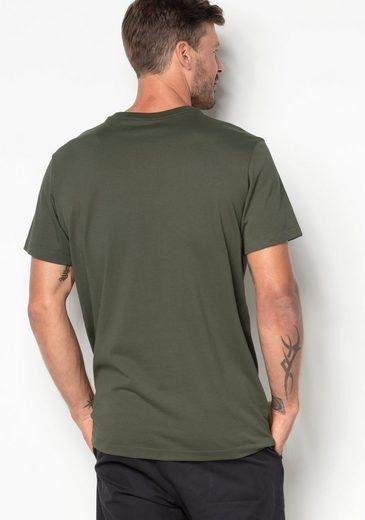 Jack Wolfskin T-shirt Pic T Hommes