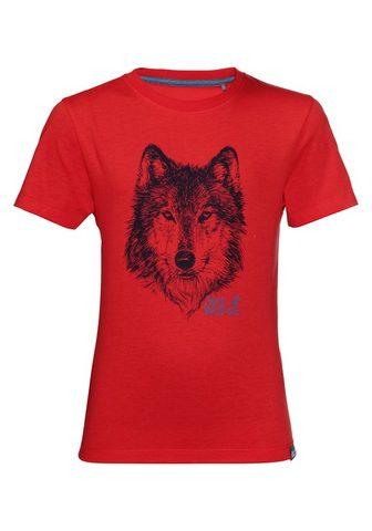 JACK WOLFSKIN Marškinėliai »BRAND T BOYS«