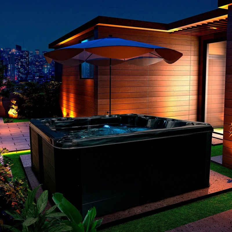 American Spa Whirlpool »American Spa Franklin«, Ganzjahres-Whirlpool für 6 Personen, mit 1 Liegefläche und 5 Sitzmöglichkeiten