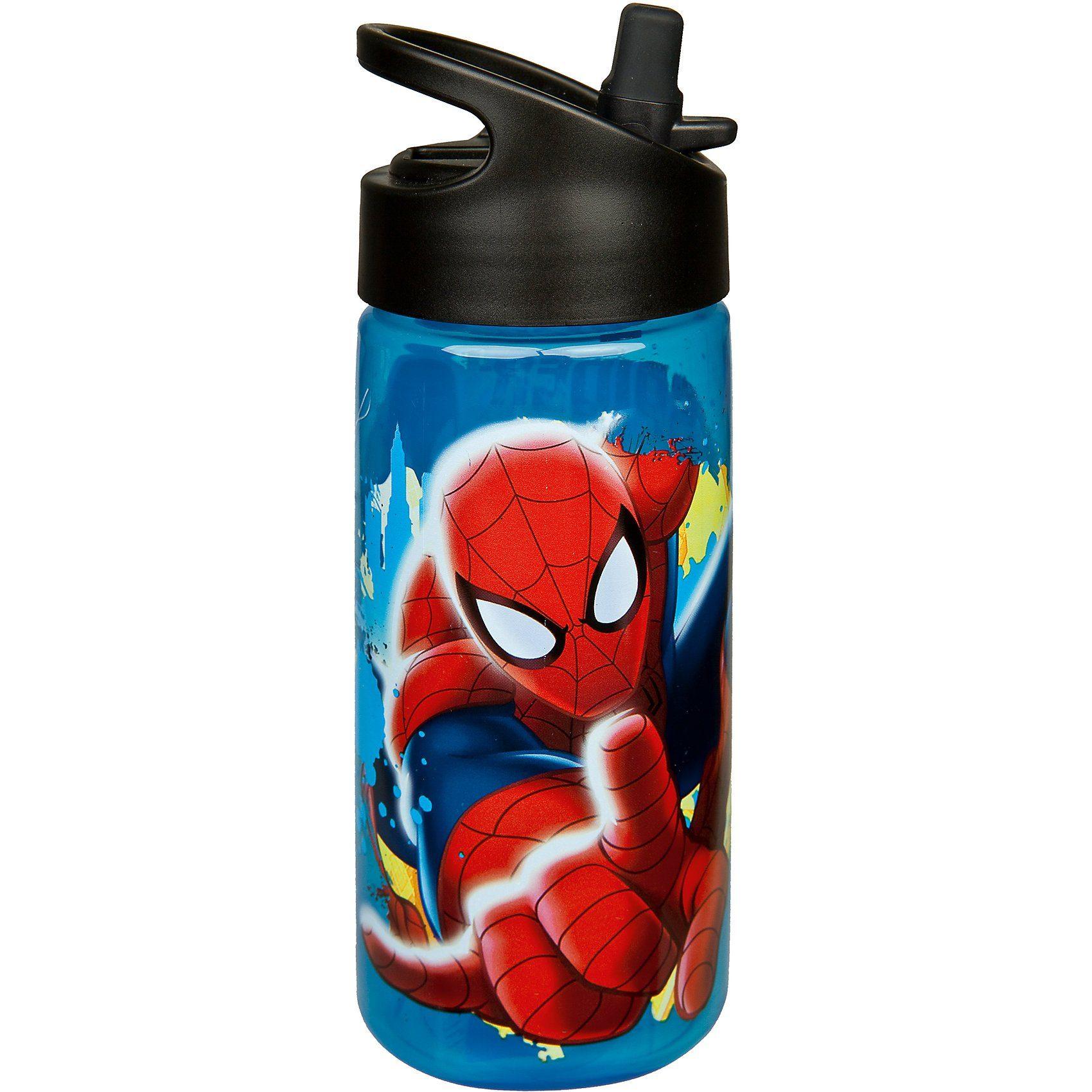 Scooli Aero-Trinkflasche Spider-Man, 400 ml