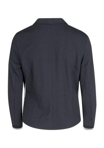 bianca Jackenblazer NIKI, aus Techno Jersey mit sportiven Streifen aus Mesh