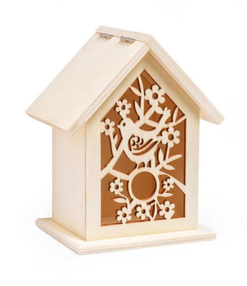 """VBS Vogelhaus-Box """"Ornament"""" 13 cm hoch kaufen"""