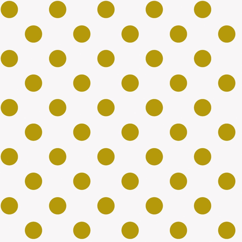 """Baumwoll-Stoff """"Goldene Punkte"""" 140 cm breit (Meterware)"""