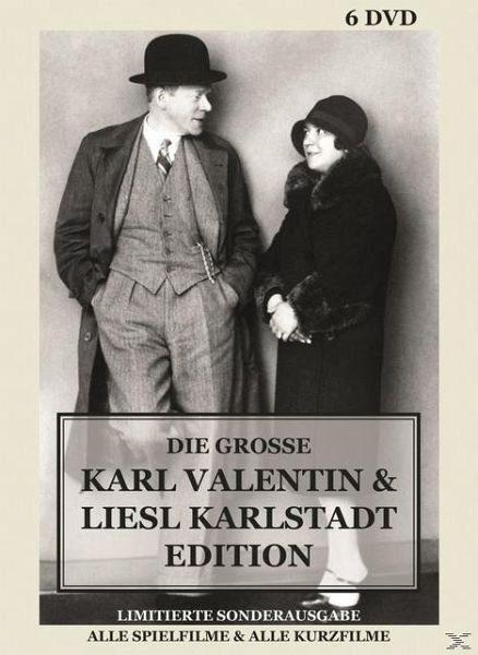 DVD »Karl Valentin und Liesl Karlstadt DVD-Box«