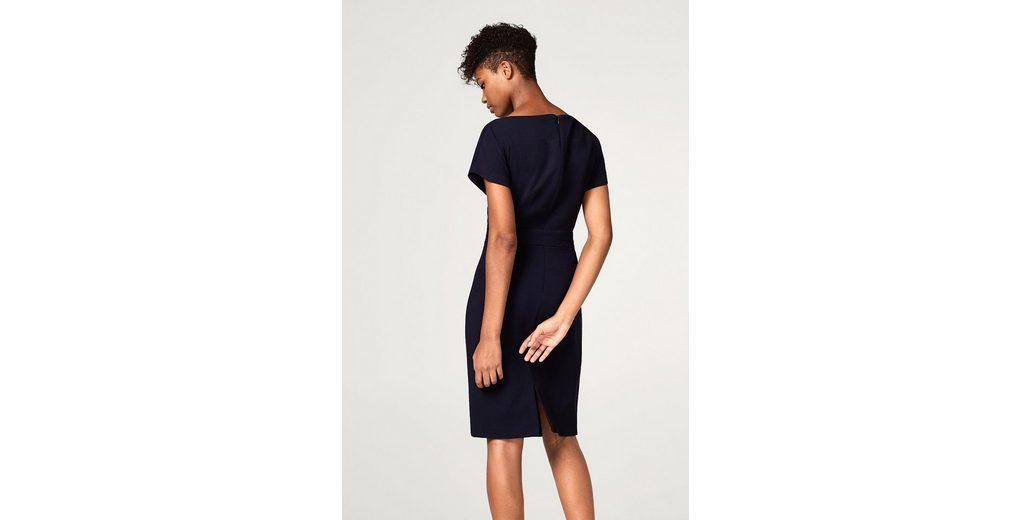 2018 Online-Verkauf ESPRIT COLLECTION Elegantes Kleid mit Bindegürtel 2018 Auslaß Auslass Professionelle Günstig Kaufen 2018 Neue Aus Deutschland rtkIg1aji