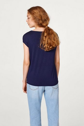ESPRIT COLLECTION T-Shirt mit Blumen-Print