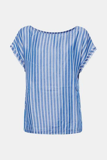 Esprit Striped Blouse Lyocell-maritime-style