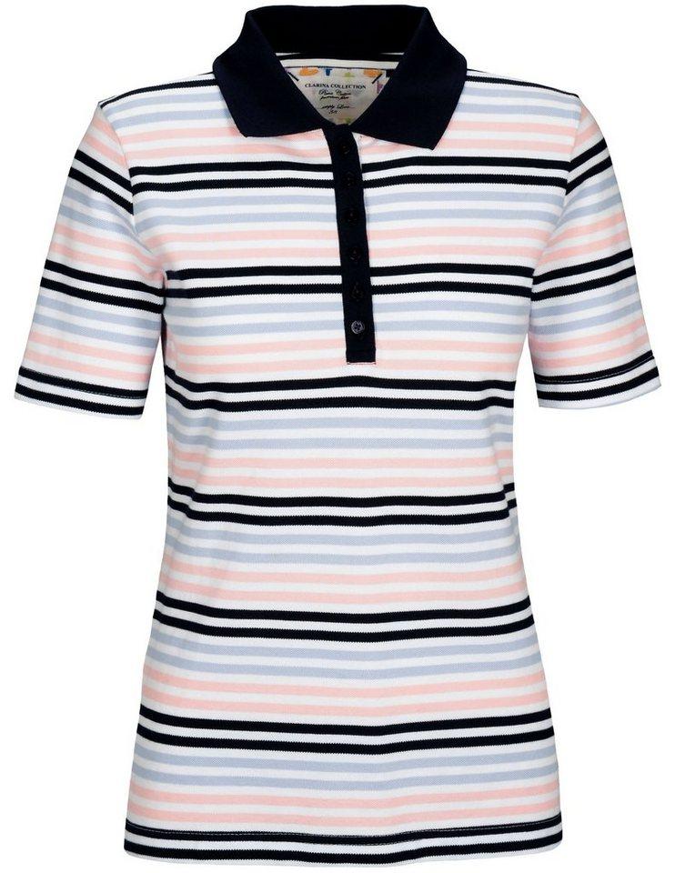 Clarina Poloshirt gestreift online kaufen   OTTO 2fa56736d3