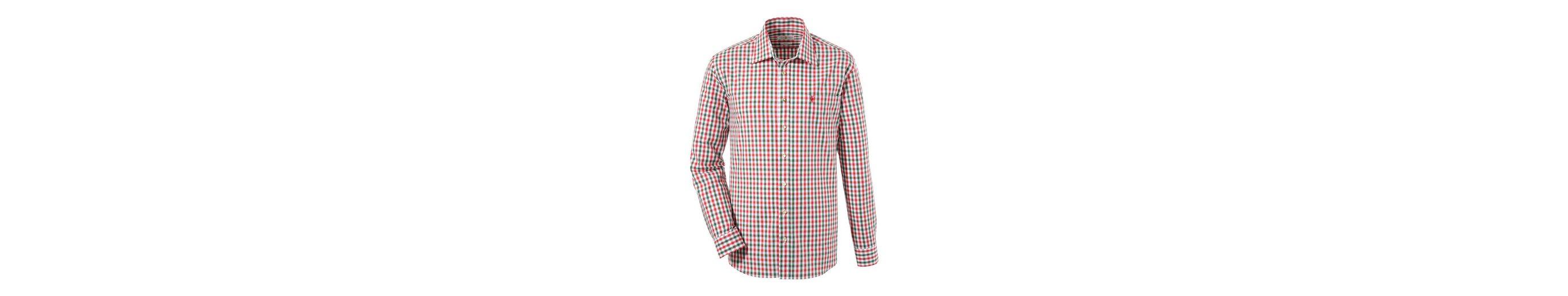 Almsach Trachtenhemd im Karodesign Preiswerten Nagelneuen Unisex ldv70a1