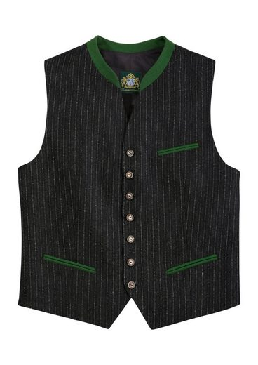 Hammer Schmid Trachtengilet Men With Stripe Pattern