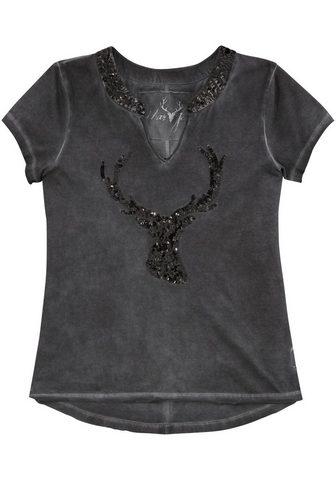 MARJO Marškinėliai Moterims su žvyneliai