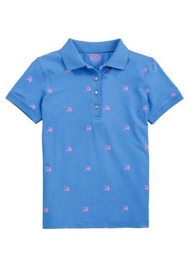 OS-Trachten Trachtenshirt Damen mit Hirschprint
