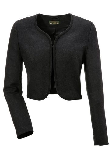 Love Nature Costume Ladies Blazer In Wool Optics