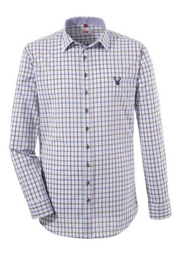 Spieth & Wensky Trachtenhemd mit Hirschstick