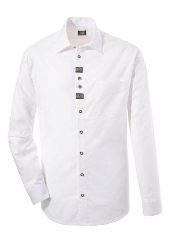 OS-TRACHTEN Tautinio stiliaus marškiniai su kuklus...