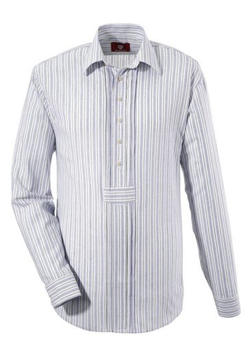 Os-seek Costume Shirt In Fashionable Stripes Design