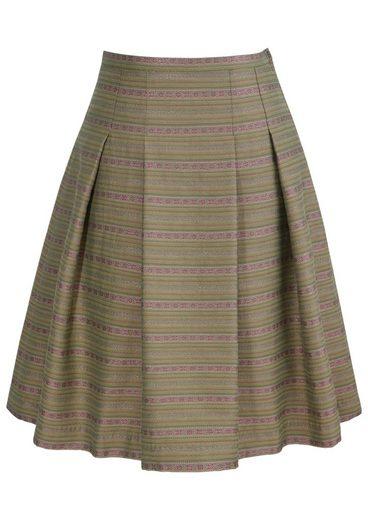 Hammerschmid Trachtenrock mit seitlichem Zipp