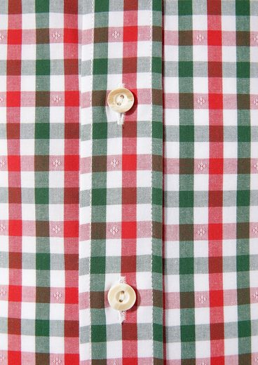 Almsach Costume Shirt In Check Design