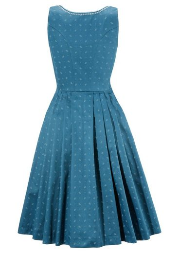 Turi Country House Dirndl Midi With Decorative Lacing