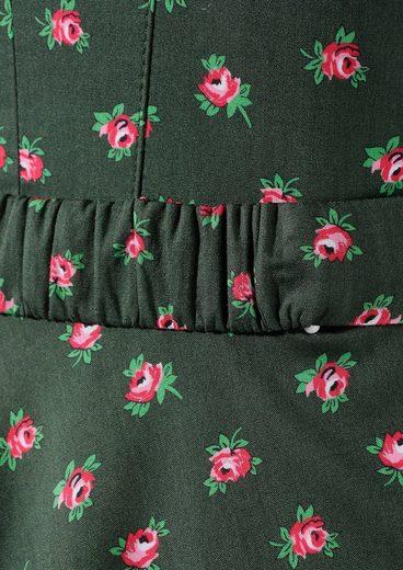 Love Nature Trachtenkleid Damen mit abnehmbarem Taillengürtel