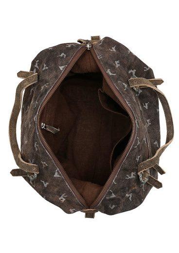 Almsach Trachtentasche mit Hirsch-Druck