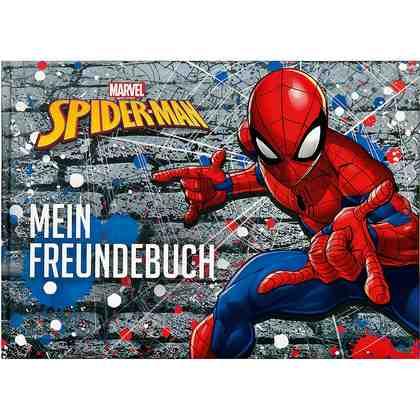 UNDERCOVER Freundebuch A5 Spider-Man