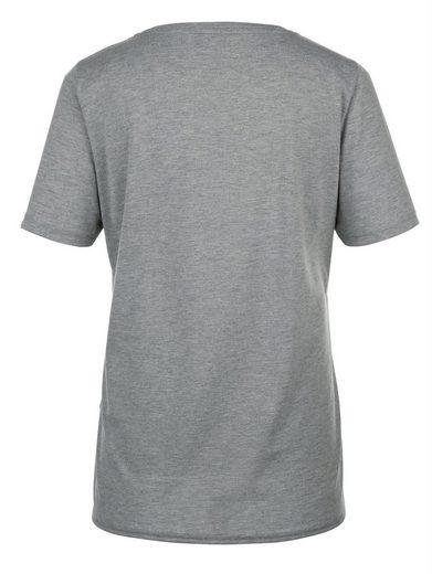 MIAMODA Shirt am Saum zum Knoten
